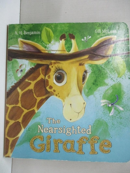 【書寶二手書T1/少年童書_BUG】The Nearsighted Giraffe_A. H. Benjamin