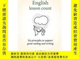 二手書博民逛書店Making罕見every English lesson count 英文原版 讓每節英語課都有價值:6個原則幫你