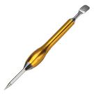 金時代書香咖啡 TIAMO 1418 LATTE 雕花筆(金色) HD0199GD