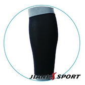 [JIANI SPORT]MST檢驗款/鐵人三項專用強壓腿套/JS13/黑灰/登山/慢跑/超馬/自行車/三鐵/球類/運動
