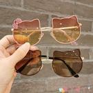 墨鏡兒童時尚太陽鏡防紫外線寶寶墨鏡卡通可愛公主太陽眼鏡女童拍照潮 愛丫 新品