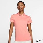 Nike Golf 女子翻領短袖高爾夫POLO衫 粉 884872-606
