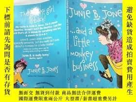二手書博民逛書店and罕見a little monkey business 還有一點惡作劇.Y200392