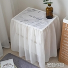 桌布全包式床頭柜套罩棉麻小清新防水桌布 布藝蓋布風臥室北歐 花樣年華