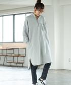 出清 長洋裝 高領上衣 半拉鍊 SMITH聯名 免運費 日本品牌【coen】