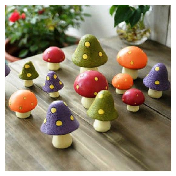 【想購了超級小物】居家飾品-森林系蘑菇擺件 / 樹脂擺飾配件/ 禮品小物 / 創意小物