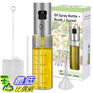 [8美國直購] 橄欖油噴霧器 Olive Oil Sprayer Mister INVOKER Oil Dispenser Bottle 100ml B07JJLWXMS