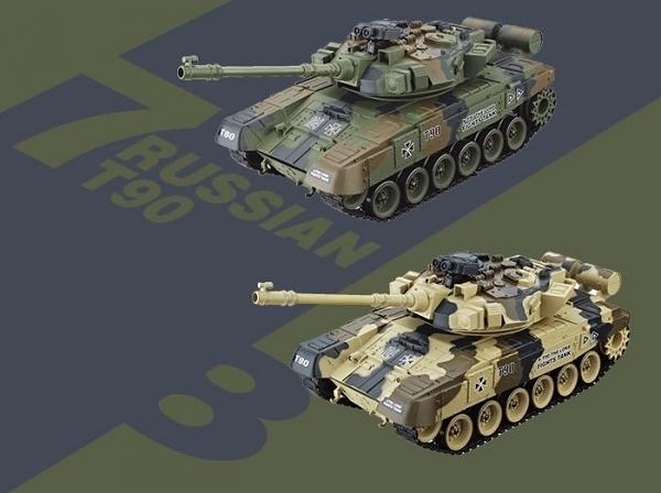 坦克車 遙控戰車 遙控車 遙控玩具 T90俄羅斯遙控戰車