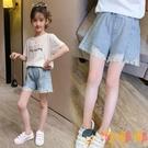 女童牛仔短褲小女孩薄款大童百搭外穿兒童熱褲【淘嘟嘟】