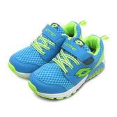 LIKA夢 LOTTO 彈力慢跑鞋 G-MAX 輕巧躍動系列 天藍綠 5606 中童