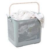 髒衣籃塑料髒衣簍收納桶衣服收納筐