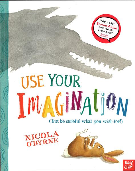 【麥克書店】USE YOUR IMAGINATION /英文繪本《主題: 想像.有趣》內附QR code