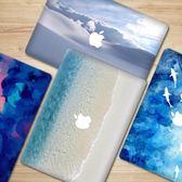 蘋果筆記本貼紙電腦創意個性全身全包機身鍵盤按鍵貼【3C玩家】