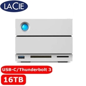 LaCie 2big Dock 16TB USB3.1/Thunderbolt3 外接硬碟