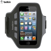 ::bonJOIE:: 美國貝爾金 Belkin EaseFit 運動臂套 (黑色) 臂帶 For iPhone 5 , 5S ,5c 彈性手臂套 手機袋