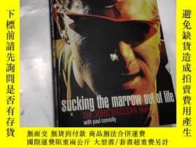 二手書博民逛書店英文原版進口罕見吸取生命的精華 Sucking the marrow out of lifeY202668 見