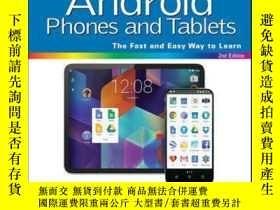 二手書博民逛書店Teach罕見Yourself VISUALLY Android Phones and Tablets, 2nd