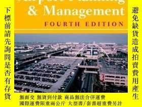 二手書博民逛書店Airport罕見Planning and Management-機場規劃與管理Y443421 Alexand