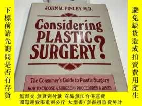 二手書博民逛書店Considering罕見Plastic Surgery?Y425866 未考 未考