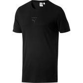 Puma 流行系列 PACE 男 黑 運動上衣 短T 休閒 短袖 T恤 棉質 運動 休閒 短袖 57764301
