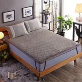 冬天家用床墊子鋪床褥宿舍1.8m床2米加厚保暖學生羊羔絨0.9雙人1