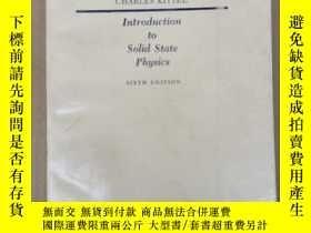 二手書博民逛書店introduction罕見to solid state physics(P2051)Y173412