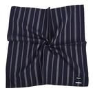 renoma簡約直紋男士純綿帕巾(深藍色)989063-240