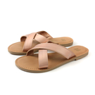 MALVADOS ICON 經典系列 拖鞋 交叉帶 玫瑰金 女鞋 3014-2171 no038