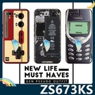 ASUS ROG Phone 5 ZS673KS 復古偽裝保護套 軟殼 懷舊彩繪 計算機 鍵盤 錄音帶 矽膠套 手機套 手機殼