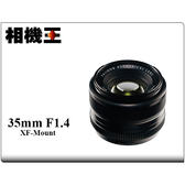 ★相機王★Fujifilm XF 35mm F1.4 R 平行輸入