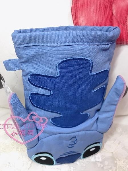 小花花日本精品迪士尼史迪奇立體大嘴巴造型隔熱手套防熱手套 園區限定96518205