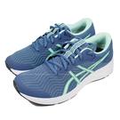 (B7) ASICS 亞瑟士 女鞋 童鞋PATRIOT 12 入門慢跑鞋 運動鞋 1012A705-400藍綠 [陽光樂活]
