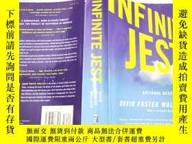 二手書博民逛書店英文原版罕見Infinite Jest 16開Y11403 David Foster Wallace Back