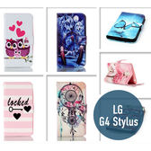 LG G4 Stylus / LS770 彩繪皮套 側翻皮套 支架 插卡 保護套 手機套 手機殼 保護殼 皮套
