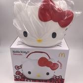 現貨 麥當勞 Hello Kitty 萬用置物籃 kitty 餐盒 提籃【艾保康】