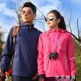 戶外風衣衝鋒衣登山防風外套加絨加厚外套