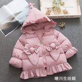 0-1歲半女寶寶冬裝羽絨棉衣服6-8至九個月3嬰幼兒加厚外套4童裝5  晴川生活馆