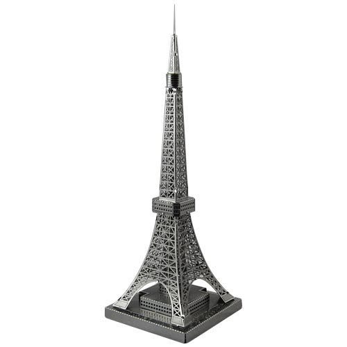 ★funbox玩具★METALLIC NANO PUZZLE 金屬微型模型拼圖 13 東京鐵塔 NO21913