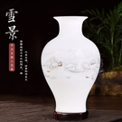 景德鎮陶瓷器小花瓶家居客廳