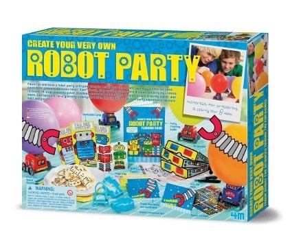 Robot Party 機器人派對 八人份DIY歡樂派對