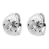 耳環 925純銀(耳針式)-大方簡潔生日情人節禮物女飾品73ds84[時尚巴黎]