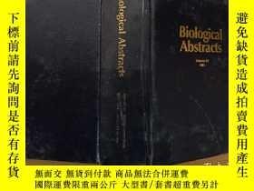 二手書博民逛書店Biological罕見abstracts 1991 volume 92 Number 8Y302069