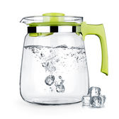 冷水壺大號家用涼白開水壺玻璃壺耐熱夏天涼水壺大容量耐高溫水杯