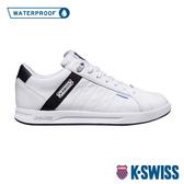 K-SWISS Lundahl WP防水系列 時尚運動鞋-男-白/咖啡