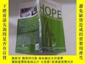 二手書博民逛書店原版英文外文罕見HOPE MEDICINE HEALINGY23