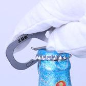 男士鑰匙扣腰掛多功能工具卡不銹鋼鑰匙