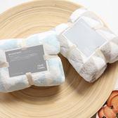 吸水柔軟毛巾家用幾何三角印花美容毛巾成人大毛巾    琉璃美衣