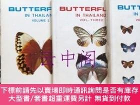 二手書博民逛書店Butterflies罕見in Thailand 【Vol.1〜Vol.4】 4冊Y449231 Edited