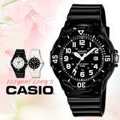 CASIO手錶專賣店 卡西歐 LRW-200H-1B 兒童錶  運動 防水100米 膠質錶帶 可旋轉錶圈 日期顯示