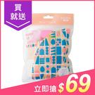 Belle Madame 貝麗瑪丹 N434萬花筒粉撲(1包入)【小三美日】